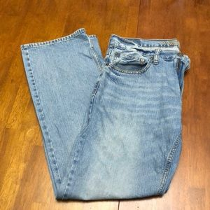 Light washed original boot AE jeans